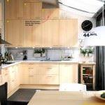 İkea 2013 tasarım mutfak modelleri ve fiyatları - ikea mese rengi tavana kadar dolap mutfak 150x150 - İkea 2013 Tasarım Mutfak Modelleri Ve Fiyatları