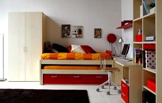 Renkli Genç Odası Mobilya Modelleri 2