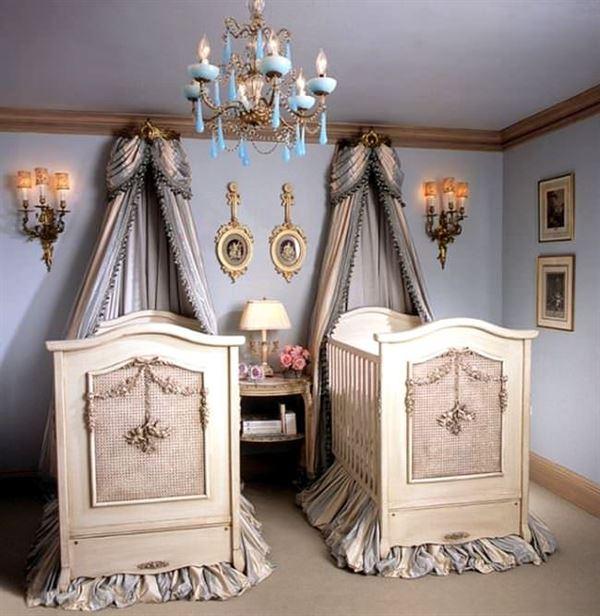 sevimli bebek odası dekorasyon fikirleri - ikiz bebek odasi dekorasyonu - Sevimli Bebek Odası Dekorasyon Fikirleri