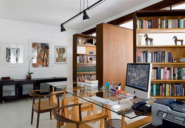 Ev Çalışma Odası Dekorasyon Fikirleri 3