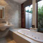küvetli banyo dekorasyon modelleri - ilgi cekici dekorasyonlu banyo 150x150 - Küvetli Banyo Dekorasyon Modelleri