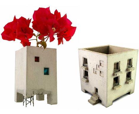 Dekoratif Vazo Ve Saksı Modelleri 15