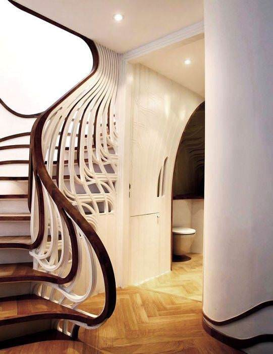 modern-ahsap-merdiven