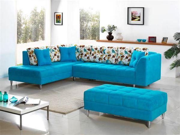 İpek mobilya renkli köşe koltuk modelleri - ipek mobilya mavi kose koltuk - İpek Mobilya Renkli Köşe Koltuk Modelleri