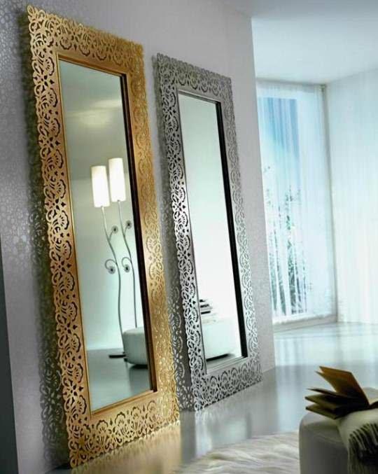 Büyük Modern Boy Aynası Modelleri boy aynası modelleri - islemeli cerceveli boy aynasi - Büyük Modern Boy Aynası Modelleri