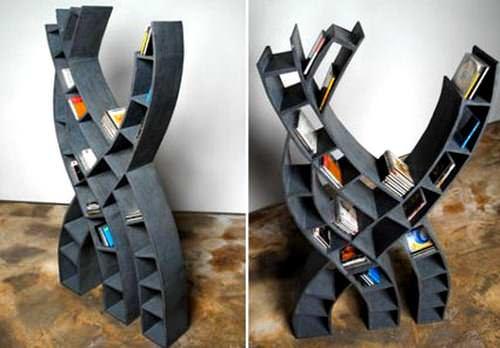 Modern Yeni Tasarım Kitaplık Modelleri 7