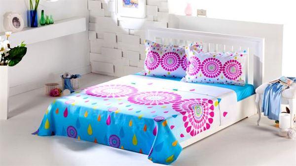 yazlık yatak çarşaf seti