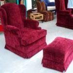 modern tekli berjer koltuk modelleri - kadife bordo berjer 150x150