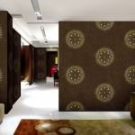 dekoratif modern İtalyan duvar kağıt modelleri - kahve rengi baskili ithal kagit 150x150 - Dekoratif Modern İtalyan Duvar Kağıt Modelleri