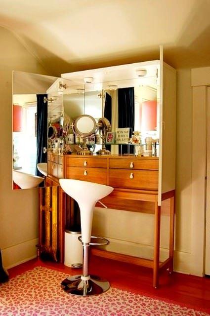Farklı Değişik Tasarım Tuvalet Masası Modelleri 7