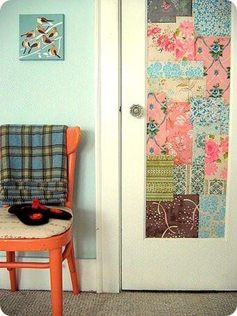 Duvar Kağıdıyla İç Kapı Süslemeleri 2