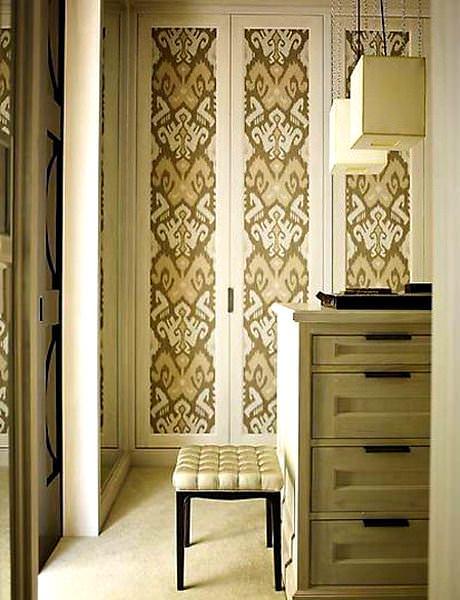 Duvar Kağıdıyla İç Kapı Süslemeleri 3