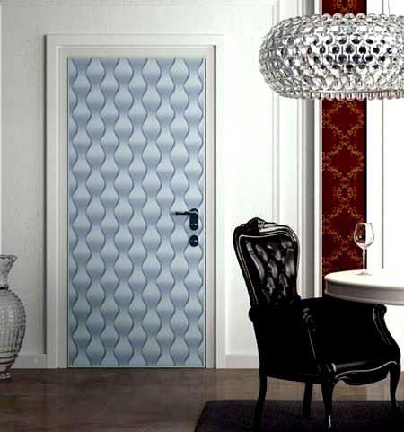 Duvar Kağıdıyla İç Kapı Süslemeleri 4