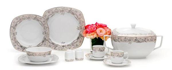 Karaca Yeni Porselen Yemek Takımı Modelleri 19