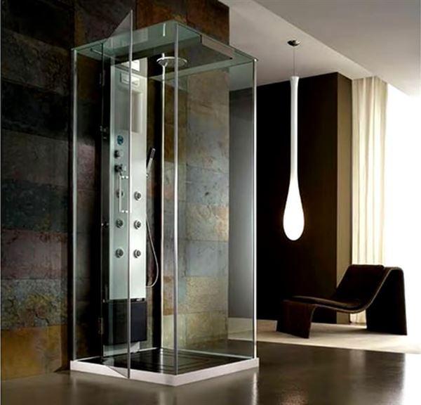 buharlı modern duşa kabin modelleri - kare buharli camli dusakabin - Buharlı Modern Duşa Kabin Modelleri