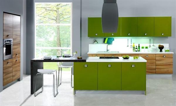 kelebek yeşil mutfak