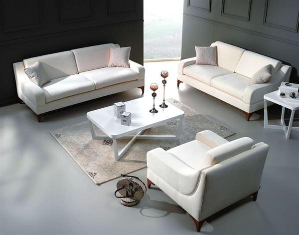 beyaz salon koltuk