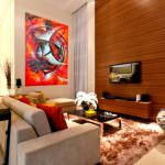 Zarif Ve Şık Oturma Odası Dekorasyon Fikirleri 3