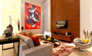 Zarif Ve Şık Oturma Odası Dekorasyon Fikirleri