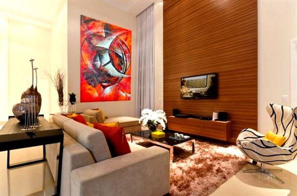Zarif Ve Şık Oturma Odası Dekorasyon Fikirleri 1