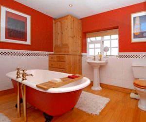 Renkli Modern Banyo Dekorasyon Modelleri
