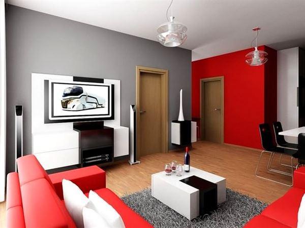 kirmizi-beyaz-oturma-odasi-dekorasyonu Çok Şık Çarpıcı oturma odası dekorasyonları - kirmizi beyaz oturma odasi dekorasyonu - Çok Şık Çarpıcı Oturma Odası Dekorasyonları