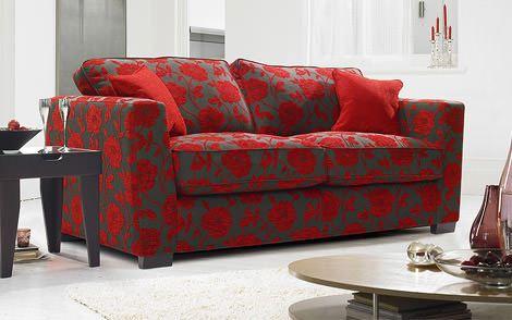 Kırmızı ile oda dekorasyon stilleri 2