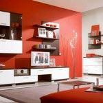 Modern Renkli Salon ve Oturma Odası Stilleri 5