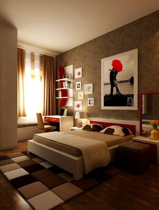 Yeni Trend Yatak Odası Dekorasyon Fikirleri 1