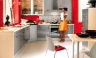 Kırmızı Mutfak Dekorasyon Modelleri