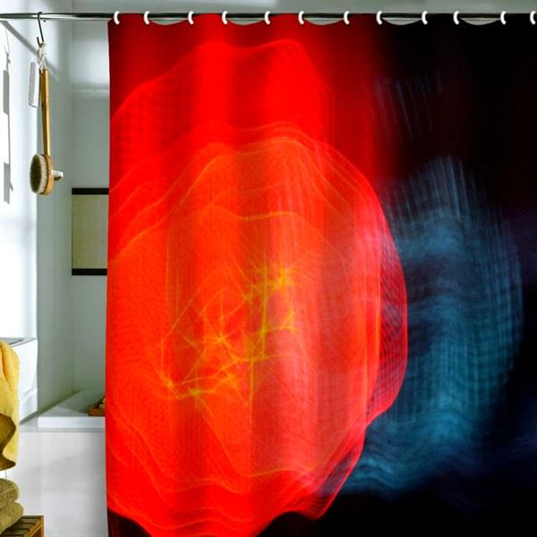Canlı Renk Ve Desenlere Sahip Duş Perdeleri 9