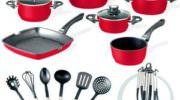Mutfağınıza Kırmızının Enerjisini Getirin