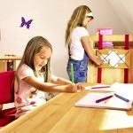 Şirin Kız Çocuk Odası Mobilya Modeli 7