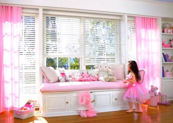 Pembe Renkli Kız Çocuk Odası Modelleri 8