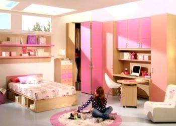 Pembe Renkli Kız Çocuk Odası