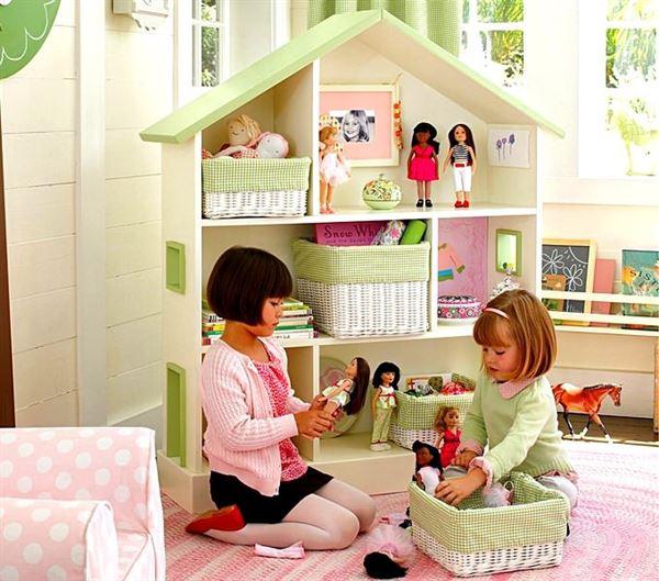 çocuk odası evcilik oynama bölümü