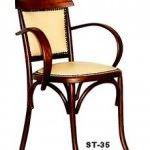 sandalye modelleri - klasik agac sandalye 150x150