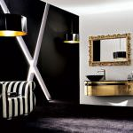 modern lüks dekoratif banyo dolapları - klasik sari yaldizli banyo dolaplari 150x150