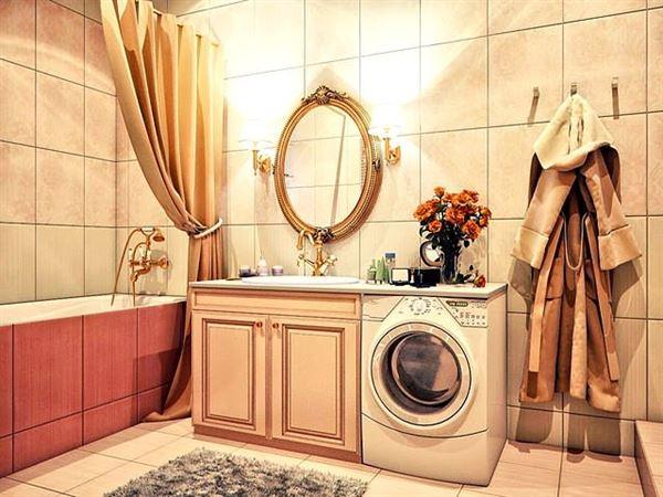 Ultra Lüks Dekorasyonlu Banyo Örnekleri 10