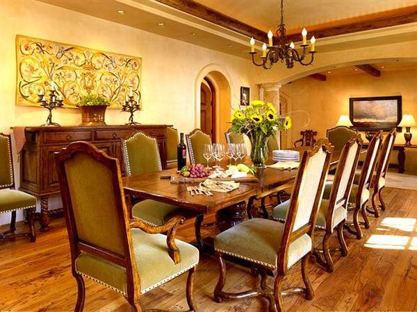 Klasik Yemek Odası Tasarımı 3
