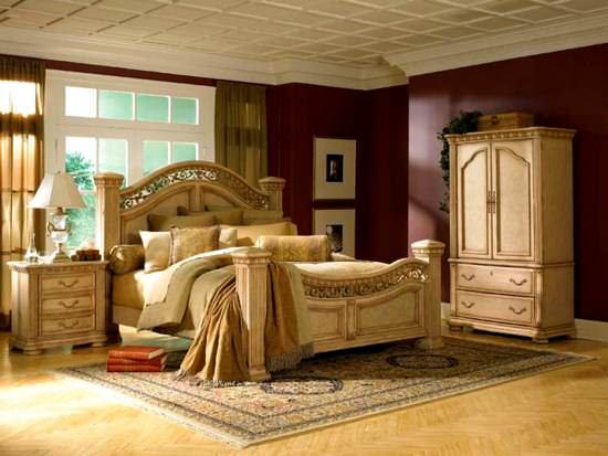Klasik Yatak Odası Modelleri 7