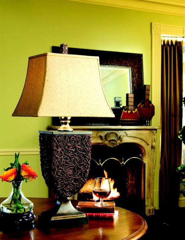 dekoratif aksesuar modelleri - knotted rattan table - Dekoratif Aksesuar Modelleri