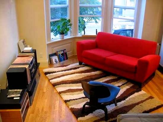 Küçük odalarınız için dekorasyon ip uçları 6