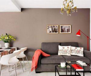 Küçük daire dekorasyon düzeni