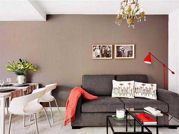 Küçük daire dekorasyon düzeni 6