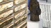Külçe Altın Şeklinde Duvar Dekorasyon Malzemesi