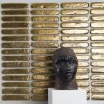 Külçe Altın Şeklinde Duvar Dekorasyon Malzemesi 2