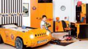 Arabalı Çocuk Odası Modelleri