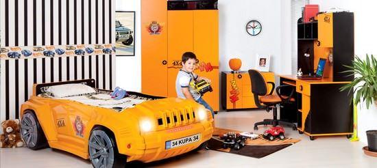 Arabalı Çocuk Odası Modelleri 2