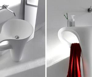 Kupa Şeklinde Banyo Lavabo Modelleri